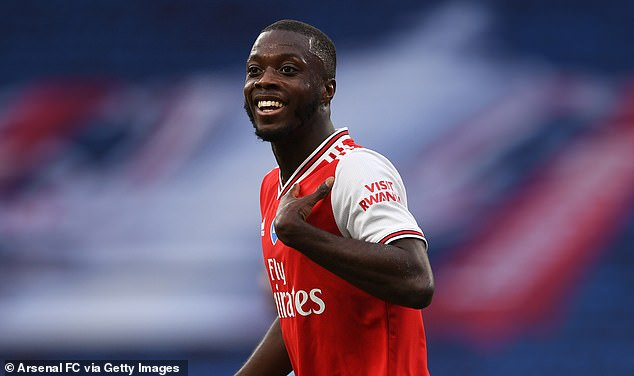 'Arsenal đã sai lầm khi mua Nicolas Pepe'