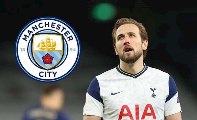 Harry Kane yêu cầu được chuyển tới Man City