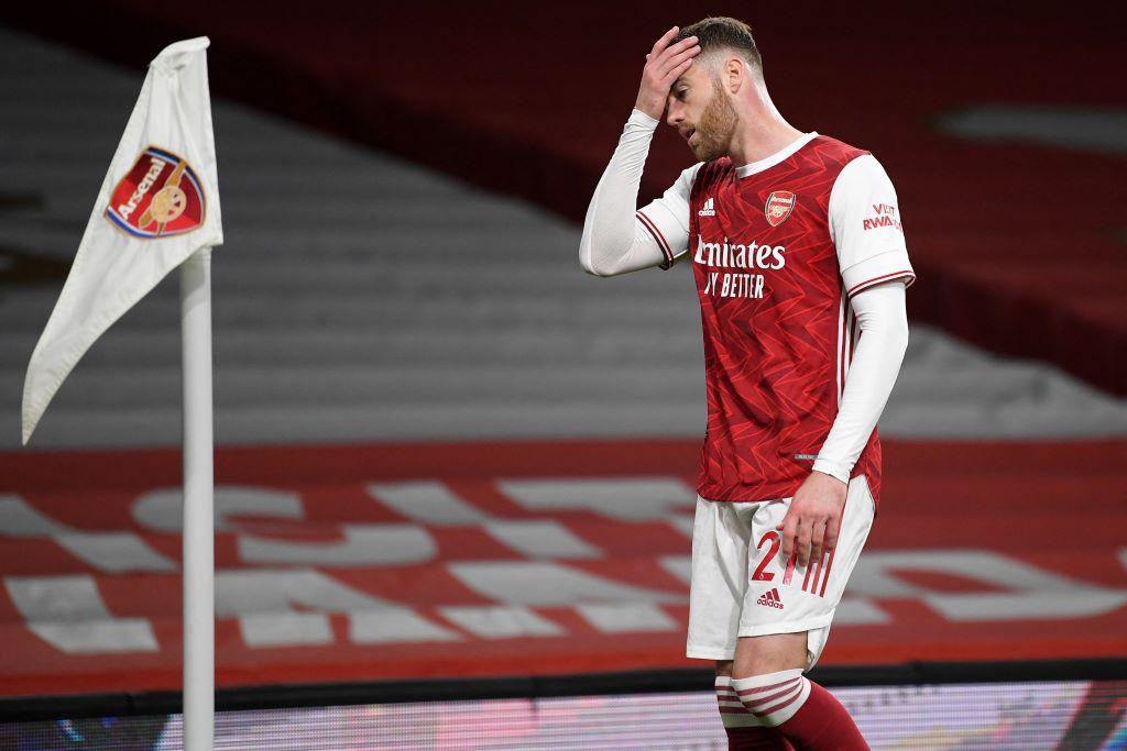 Màn trình diễn của Arsenal trước Everton là không chấp nhận được