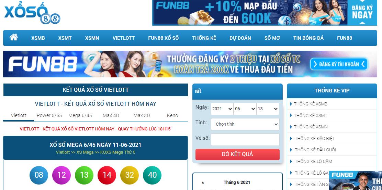 Xoso88 TV - Đánh giá trang xổ số trực tuyến mới nhất hiện nay